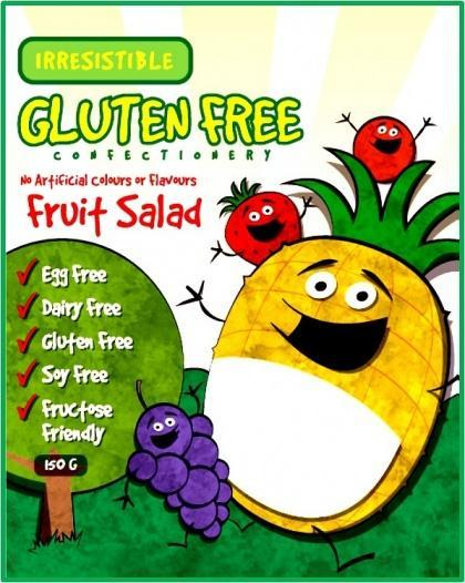 Irresistible G/F Fruit Salad (New Package) 150g-Health Tree Australia
