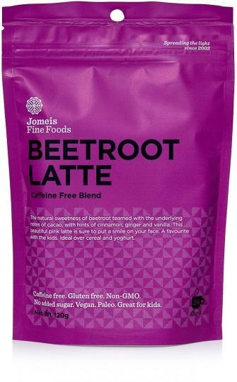 Jomeis Fine Foods Beetroot Latte G/F 120g-Health Tree Australia