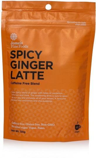Jomeis Fine Foods Spicy Ginger Latte G/F 120g-Health Tree Australia