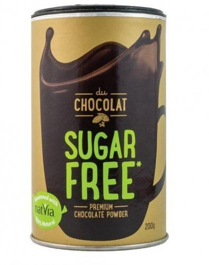 Du Chocolat Sugar Free Chocolate Powder 200g-Health Tree Australia