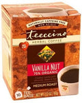 Teeccino Vanilla Nut Herbal Coffee 10 Tee-Bags