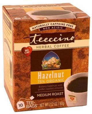 Teeccino Hazelnut Herbal Coffee 10 Tee-Bags-Health Tree Australia
