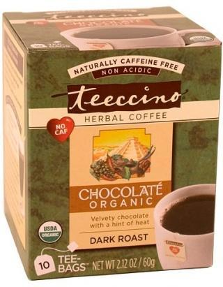 Teeccino Maya Choc Herbal Coffee 10 Tee-Bags-Health Tree Australia
