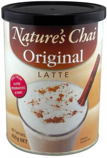 Nature's Chai Original Latte G/F 400g-Health Tree Australia