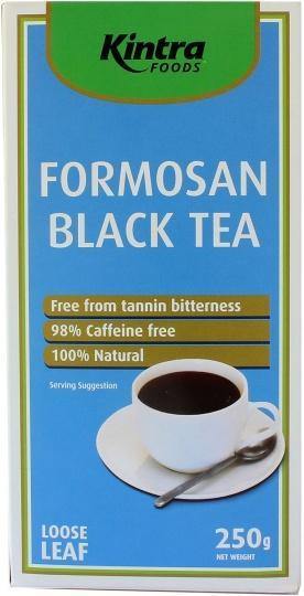 Kintra Foods Organic Formosan Black Tea Loose Leaf 250g