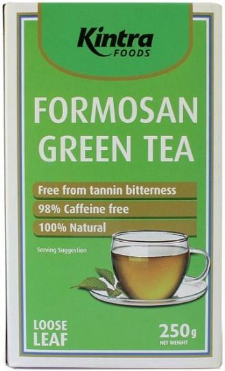 Kintra Foods Organic Formosan Green Tea Loose Leaf 250g-Health Tree Australia