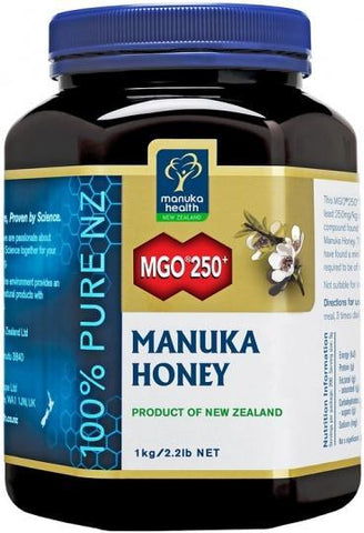 Manuka Health MGO 250+ Manuka Honey 1kg-Health Tree Australia