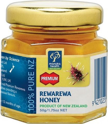 Manuka Health Rewarewa Honey 50g-Health Tree Australia