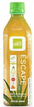 Alo Escape Aloe Vera + Pineapple + Guava + Seabuckthorn Berry 500ml x 12-Health Tree Australia