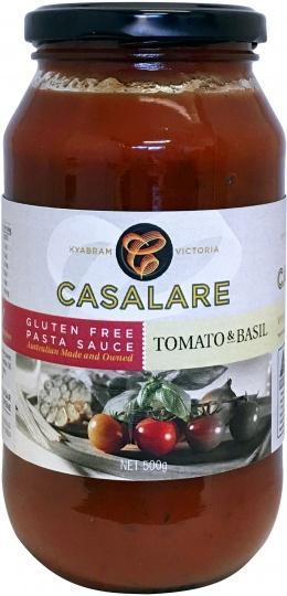 Casalare Pasta Sauce Tomato and Basil 500g