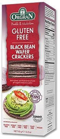 Orgran Black Bean Wafer Crackers G/F 65g