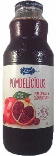 Eskal Pomdelicious 100% Natural Pomegranate & Cranberry Juice 1L