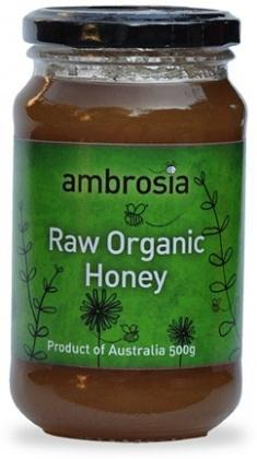 Ambrosia Organic Honey Raw 500g-Health Tree Australia
