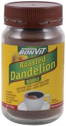Bonvit Roasted Dandelion Blend Medium Ground 150g-Health Tree Australia