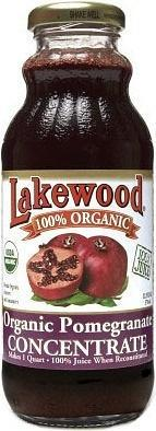 Lakewood Organic Pomegranate Concentrate 370ml