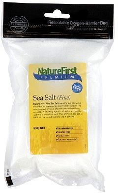 Natures First Sea Salt Fine 500gm-Health Tree Australia