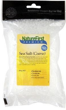 Natures First Sea Salt Coarse 500gm-Health Tree Australia