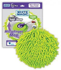 White Magic Microfinger Mop Head - 20cm Round-Health Tree Australia