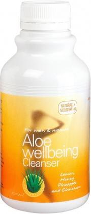 Aloe Vera Aloe Wellbeing Cleanse with Cinnamon 500ml
