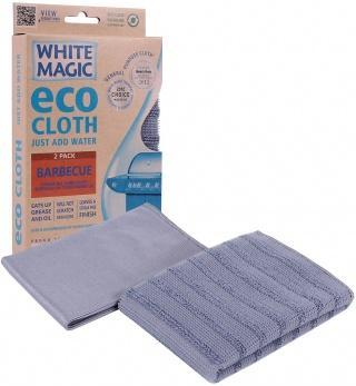 White Magic Eco Cloth Barbecue 2Pk - 32x32cm-Health Tree Australia