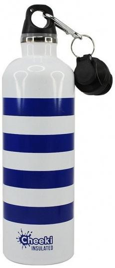 Cheeki Stainless Steel Insulated Beach Stripes 600ml-Health Tree Australia
