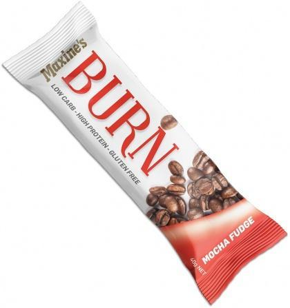 Maxine's Burn Bar Mocha Fudge G/F 12x40g-Health Tree Australia