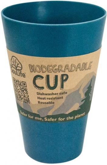 EcoSouLife Bamboo Cup Navy 443ml-Health Tree Australia