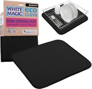 White Magic Dish Drying Mat Midnight - 40x45cm-Health Tree Australia