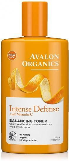 Avalon Organics Intense Defense with Vitamin C Balancing Toner 250ml-Health Tree Australia