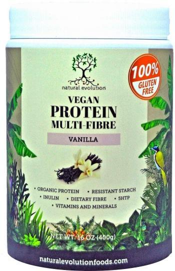 Natural Evolution Vegan Protein Multifibre Vanilla G/F 400g