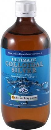 Medicines From Nature Ultimate Colloidal Silver50PPM 500ml