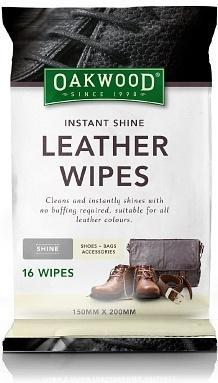 Oakwood Instant Shine Wipes(150mm x 200mm) 16Pk