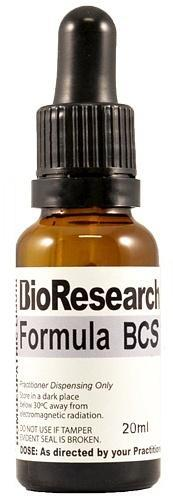 BioResearch Formula BCS (Chronic Respiatory) 20ml New