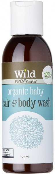 Wild Organic Baby Body Wash 125ml