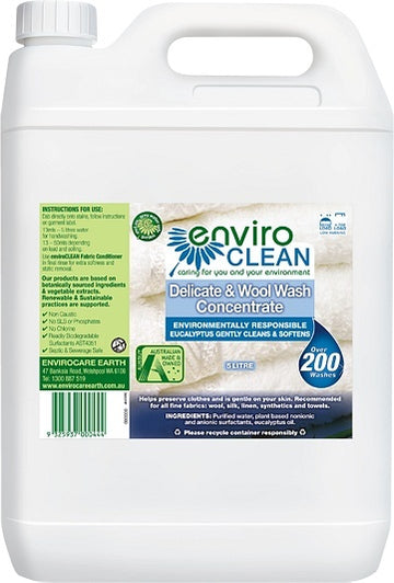 Enviro Care Delicate & Wool Wash 5L New