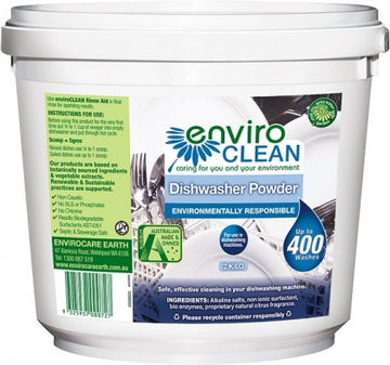 Enviro Care Dishwasher Powder Super Concentrate 2Kg New