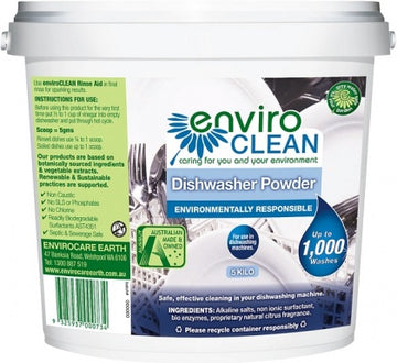 Enviro Care Dishwasher Powder Super Concentrate 5Kg New