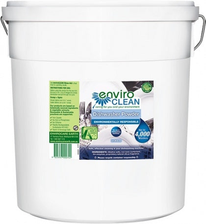 Enviro Care Dishwasher Powder Super Concentrate 20Kg New