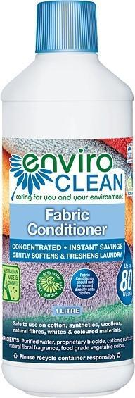 Enviro Care Fabric Conditioner Softener 1L New