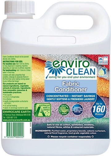 Enviro Care Fabric Conditioner Softener 2L New