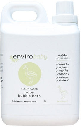 Enviro Care Baby Bubble Bath 2L New