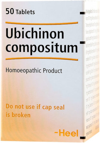 Heel Ubichinon Compositum 50Tabs New