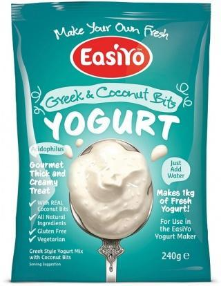 Easiyo Greek & Coconut Bits Yogurt 240g-Health Tree Australia