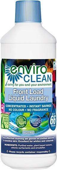 Enviro Care Front Load Laundry Liquid 1L New