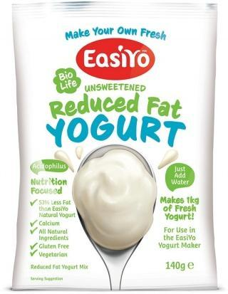 Easiyo BioLife Unsweetened Reduced Fat Yogurt 140g-Health Tree Australia