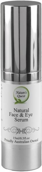 Nature's Quest Natural Face & Eye Serum 15ml