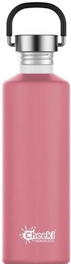 Cheeki Classic Stainless Steel Dusty Pink Bottle 750ml