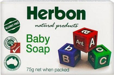 Herbon Baby Soap 75gm-Health Tree Australia