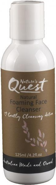 Nature's Quest Foaming Face Cleanser 125ml