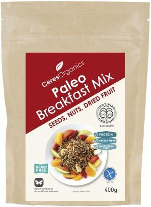 Ceres Organics Paleo Breakfast Mix Grain Free 400g